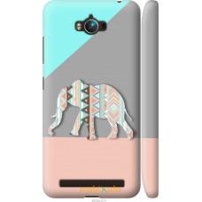 Чехол на Asus ZenFone Max ZC550KL Узорчатый слон