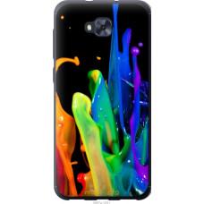 Чехол на Asus ZENFONE 4 SELFIE | ZD553KL брызги краски