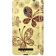 Чехол на Asus Zenfone 5 Рисованные бабочки