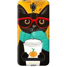 Чехол на Asus ZenFone Go ZC451TG Осенний кот