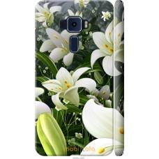 Чехол на Asus Zenfone 3 ZE520KL Лилии белые