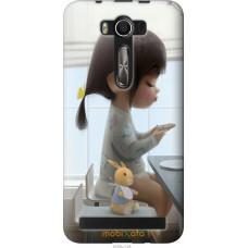 Чехол на Asus ZenFone 2 Laser 2 ZE550KL Милая девочка с зайч