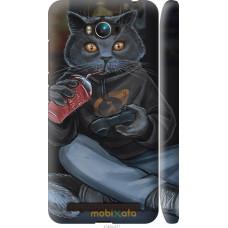 Чехол на Asus ZenFone Max ZC550KL gamer cat