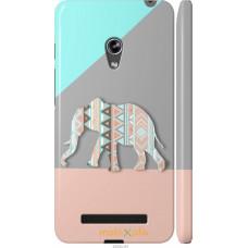 Чехол на Asus Zenfone 5 Узорчатый слон