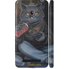 Чехол на Asus Zenfone 5 gamer cat