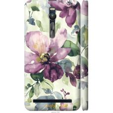 Чехол на Asus Zenfone 2 ZE551ML Акварель цветы