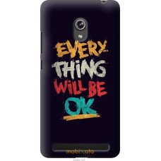 Чехол на Asus ZenFone 6 A600CG Everything will be Ok