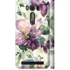 Чехол на Asus ZenFone 2 Laser ZE500KL Акварель цветы