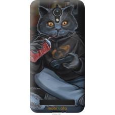 Чехол на Asus ZenFone C ZC451CG gamer cat