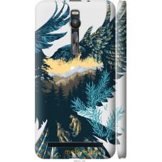 Чехол на Asus Zenfone 2 ZE551ML Арт-орел на фоне природы