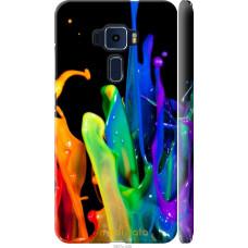 Чехол на Asus Zenfone 3 ZE552KL брызги краски