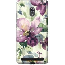 Чехол на Asus ZenFone 6 A600CG Акварель цветы