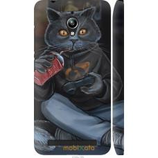 Чехол на Asus Zenfone Go ZC500TG gamer cat
