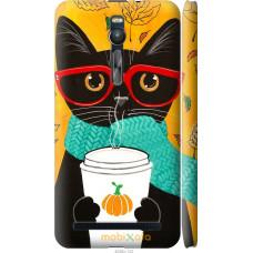 Чехол на Asus Zenfone 2 ZE551ML Осенний кот