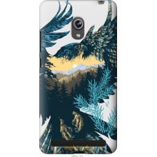 Чехол на Asus ZenFone 6 A600CG Арт-орел на фоне природы
