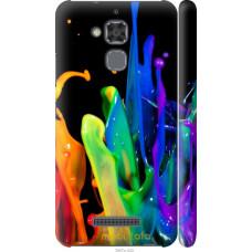 Чехол на Asus Zenfone 3 Max ZC520TL брызги краски