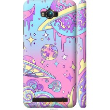 Чехол на Asus ZenFone Max ZC550KL 'Розовый космос