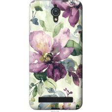 Чехол на Asus ZenFone C ZC451CG Акварель цветы