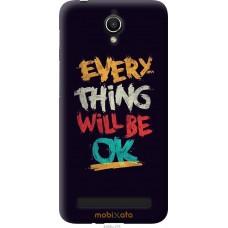 Чехол на Asus ZenFone Go ZC451TG Everything will be Ok