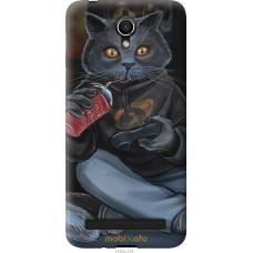 Чехол на Asus ZenFone Go ZC451TG gamer cat