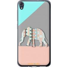 Чехол на Asus ZENFONE Live ZB501KL Узорчатый слон
