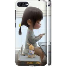Чехол на Asus ZenFone 4 Max ZC520KL Милая девочка с зайчиком