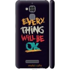 Чехол на Asus Zenfone 3 Max ZC520TL Everything will be Ok