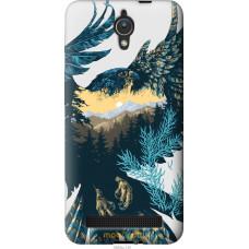 Чехол на Asus ZenFone C ZC451CG Арт-орел на фоне природы
