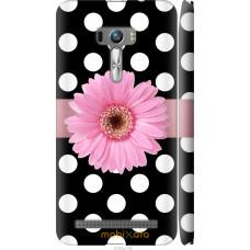 Чехол на Asus ZenFone Selfie ZD551KL Цветочек горошек v2