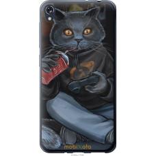 Чехол на Asus ZENFONE Live ZB501KL gamer cat