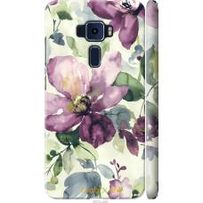 Чехол на Asus Zenfone 3 ZE552KL Акварель цветы