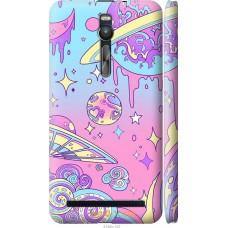 Чехол на Asus Zenfone 2 ZE551ML 'Розовый космос