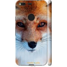 Чехол на Google Pixel XL Рыжая лисица