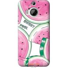 Чехол на HTC One M9 Plus Розовый арбузик