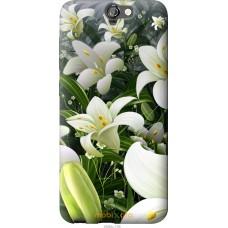Чехол на HTC One A9 Лилии белые