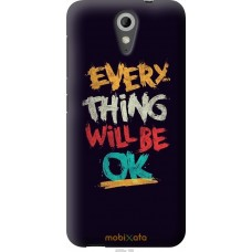 Чехол на HTC Desire 620 Everything will be Ok