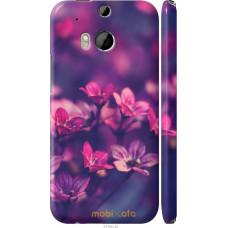 Чехол на HTC One M8 dual sim Весенние цветочки