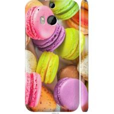 Чехол на HTC One M8 dual sim Вкусные макаруны
