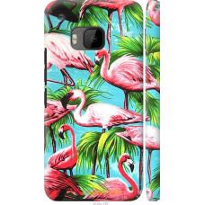 Чехол на HTC One M9 Tropical background