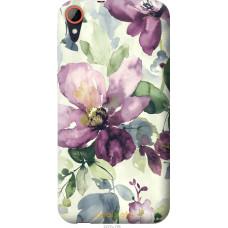 Чехол на HTC Desire 830 Акварель цветы