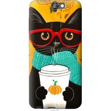 Чехол на HTC One A9 Осенний кот