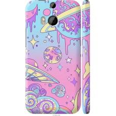 Чехол на HTC One M8 dual sim 'Розовый космос