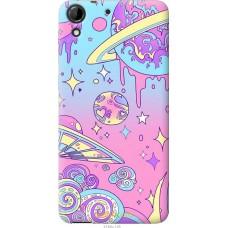 Чехол на HTC Desire 728G 'Розовый космос