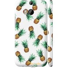 Чехол на HTC One M8 Ананас