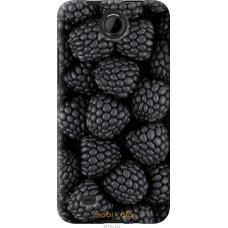 Чехол на HTC Desire 300 Черная ежевика