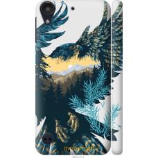 Чехол на HTC Desire 530 Арт-орел на фоне природы