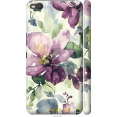 Чехол на HTC One X9 Акварель цветы