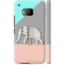 Чехол на HTC One M9 Узорчатый слон