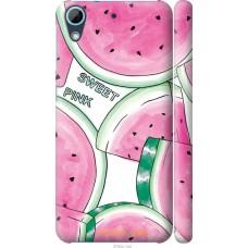 Чехол на HTC Desire 626G Розовый арбузик