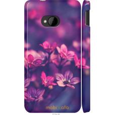 Чехол на HTC One M7 Весенние цветочки